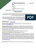 UU News 4.18.14
