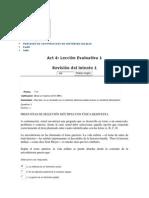 Act 4 Lección Evaluativa 1 PROCESOS DE CONSTRUCCION DE HISTORIAS LOCALES