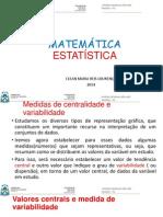 Estatística - Medidas de centrabilidade e variabilidade.pptx