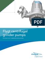 Flygt Centrifugal Grinder Pump (893772)