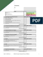 PFMEA Audit Checklist