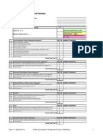 PFMEA Audit Checklist