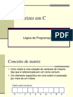 Matrizes Em C