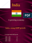 India a Growing Economy