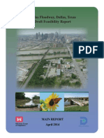 The US Army Corps of Engineers Draft Feasibility Report