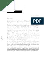 Carta de Adolfo Suarez a Pilar Urbano 140401