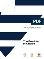 Elim Preferred Services // The Provider of Choice