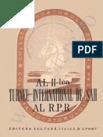 Stere Sah Istoria Sahului 1952 TI ROM II