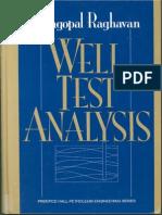 0178 Well Test Analysis