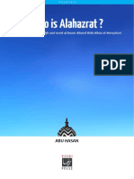 Who is Alahazrat