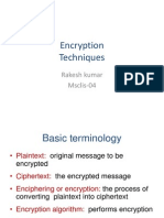 2 Classical Encryption