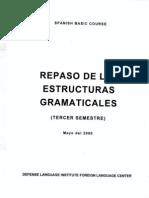Repaso de Las Estructuras Gramaticales