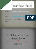 El Gobierno de Alan García Perez