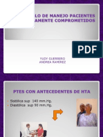 Protocolo de Manejo Pacientes Sistemicamente Comprometidos