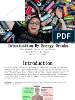 energy drinks vs  coffee research presentation