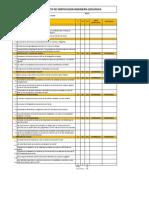 Gestión de la calidad en la construcción de plataformas por Corbera Networks (The Integral Management Society). Formato Lista de verificación para ingenieria geológica
