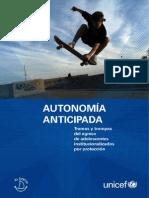 Autonomía anticipada, tramas y trampas del egreso de adolescentes institucionalizados por protección