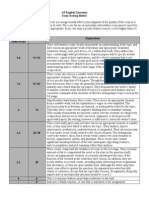 text type 2 ap english literature rubric