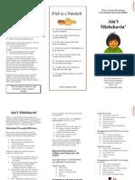 FASD Brochure for Teachers