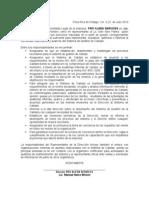 Desarrollo de proveedores para HalliBurton, nombramiento Iván Abril Palma como responsable de Calidad.