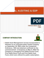 Internal Auditing and Edp
