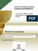 week 1 culture and rhetoric revised