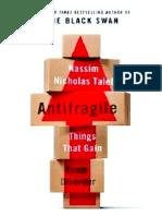 Antifragile by Nassim Taleb