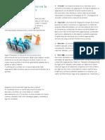 Los 4 procesos básicos en la administración de los recursos humanos