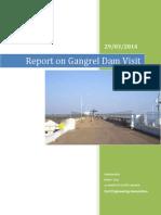 Report On Gangrel Dam Visit