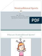 teaching nontraditional sports
