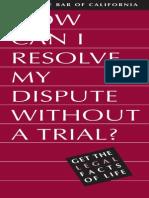 resolve-dispute english