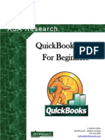 2010 QuickBooks for Beginners Manual as of April 2010 A