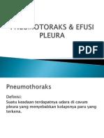 Pneumotoraks & Efusi Pleura