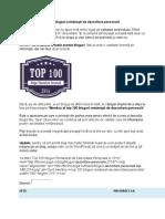 Top 100 cele mai bune bloguri românești de dezvoltare personală