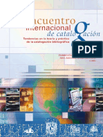 II Encuentro Internacional Catalogacion