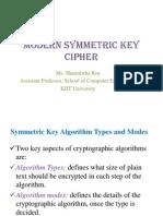 Modern Symmetric Key Cipher