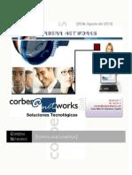 Currículum de Corbera Networks (actualmente The Integral Management Society) V 5.3