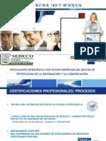 Reunión de empresarios de TIC organizada por la Secretaría de Desarrollo Económico de Puebla y CORBERA NETWORKS (Actualmente The Integral Management Society)