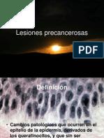 Lesiones precancerosas