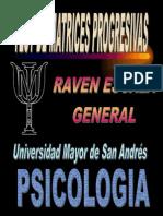 Raven Escala General Para Aplicación Grupal