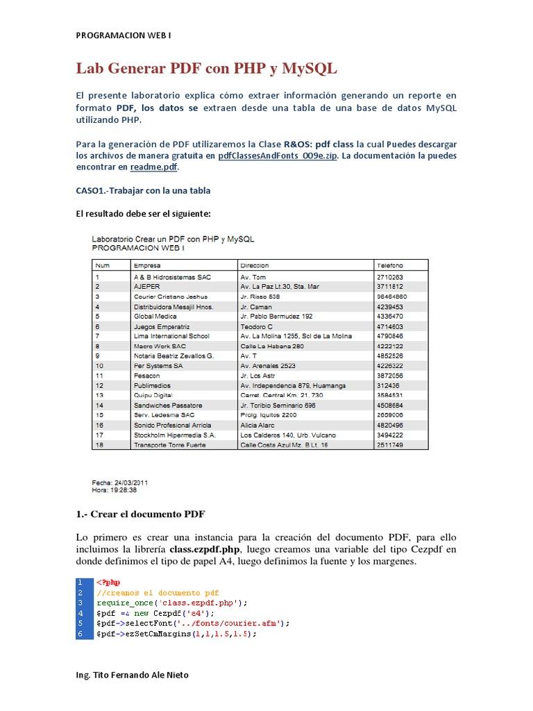 libro de php y mysql pdf 2018
