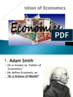 Evolution of Economic Life