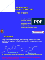 13-Sulfamidas y Quinolonas