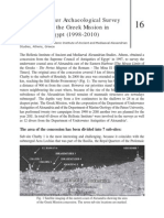 Report on Underwater Investigation in Alexandria