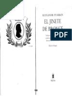 PUSHKIN- El Jinete de Bronce