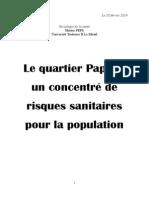 dossier santé-Julien Faessel - quartier Papus