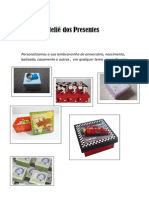 Catalogo Atelie Presentes