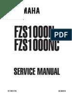 2001-2002 Yamaha Fz-1 Service Repair Workshop Manual Download