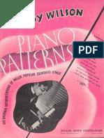 Teddy Wilson - Piano Patterns