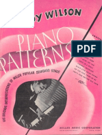 Teddy Wilson - Piano Patterns